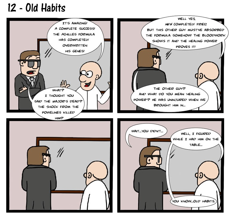 12 – Old Habits