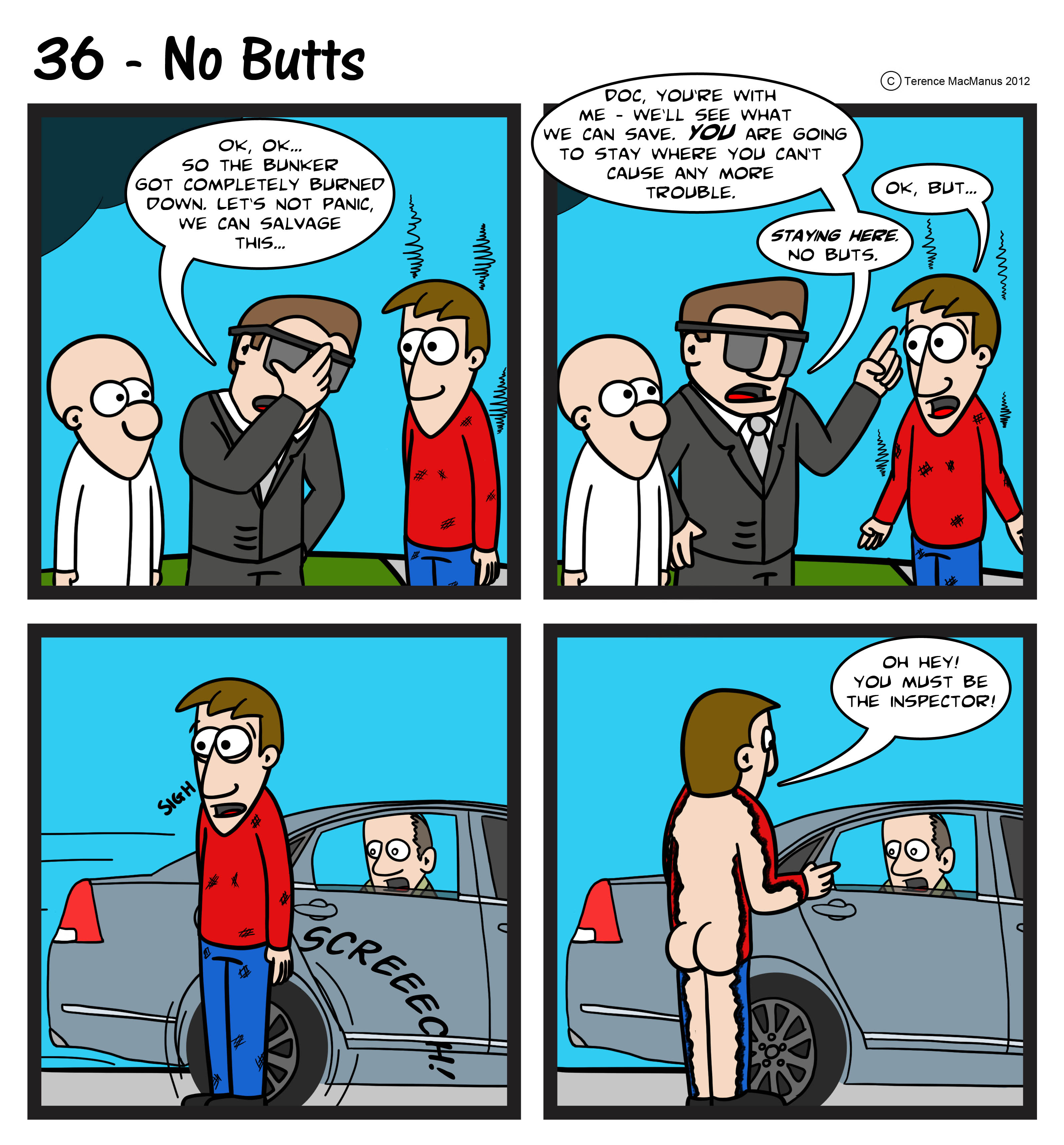 36 – No Butts