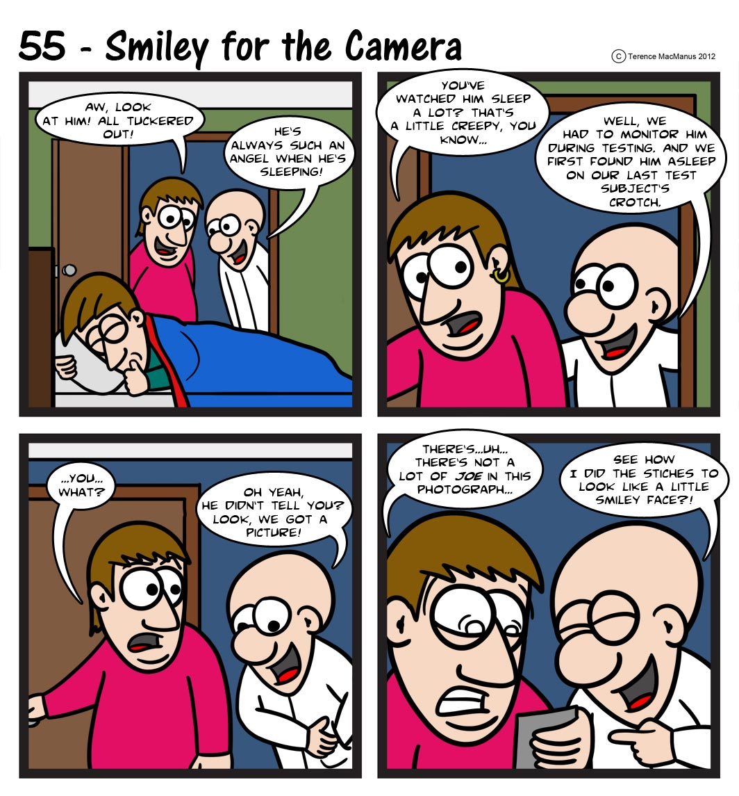 55 – Smiley for the Camera