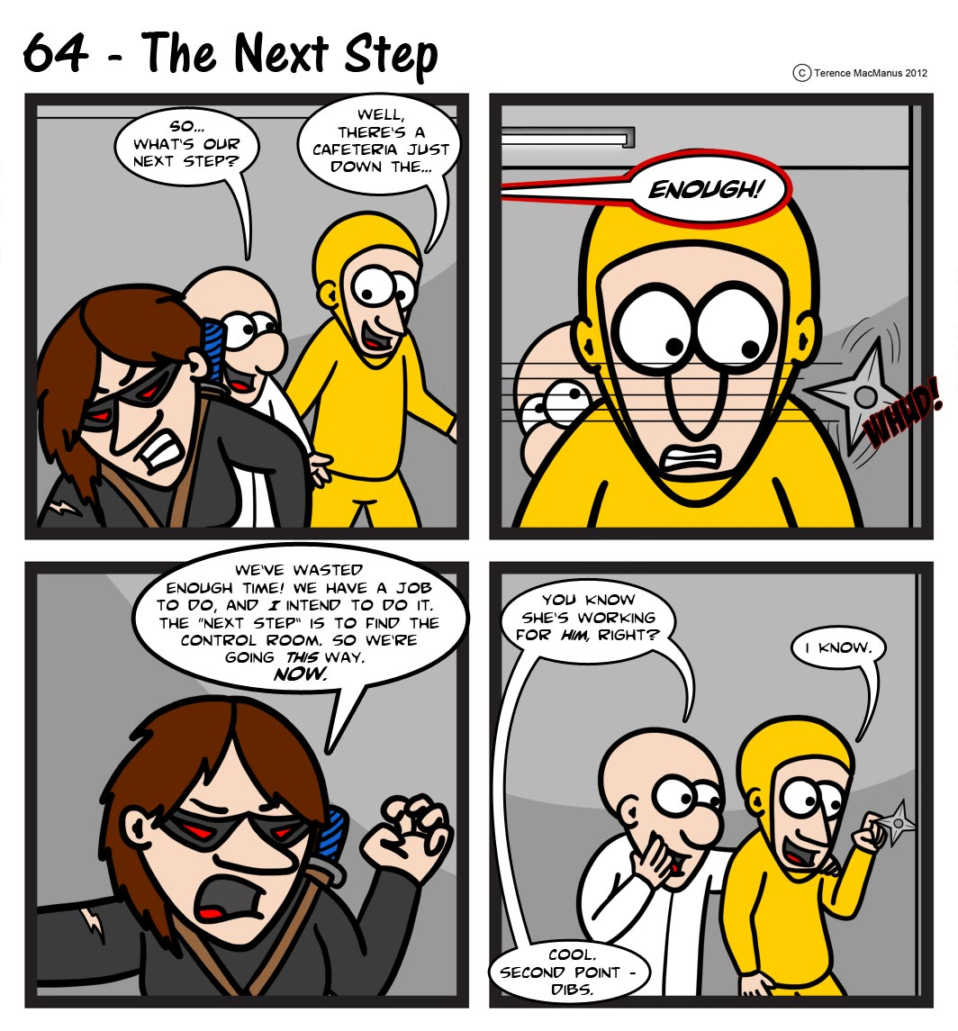 64 – The Next Step