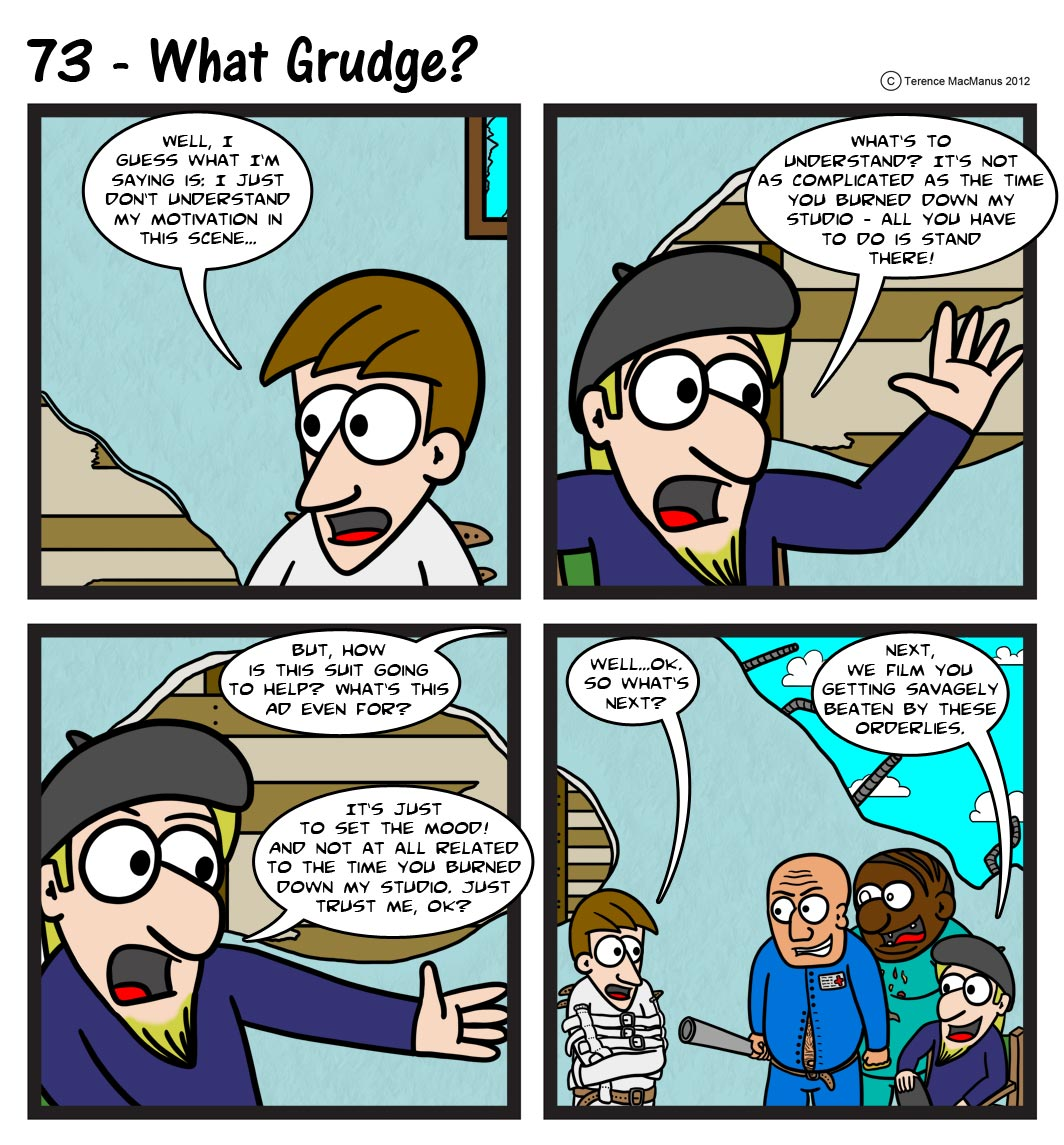 73 – What Grudge?