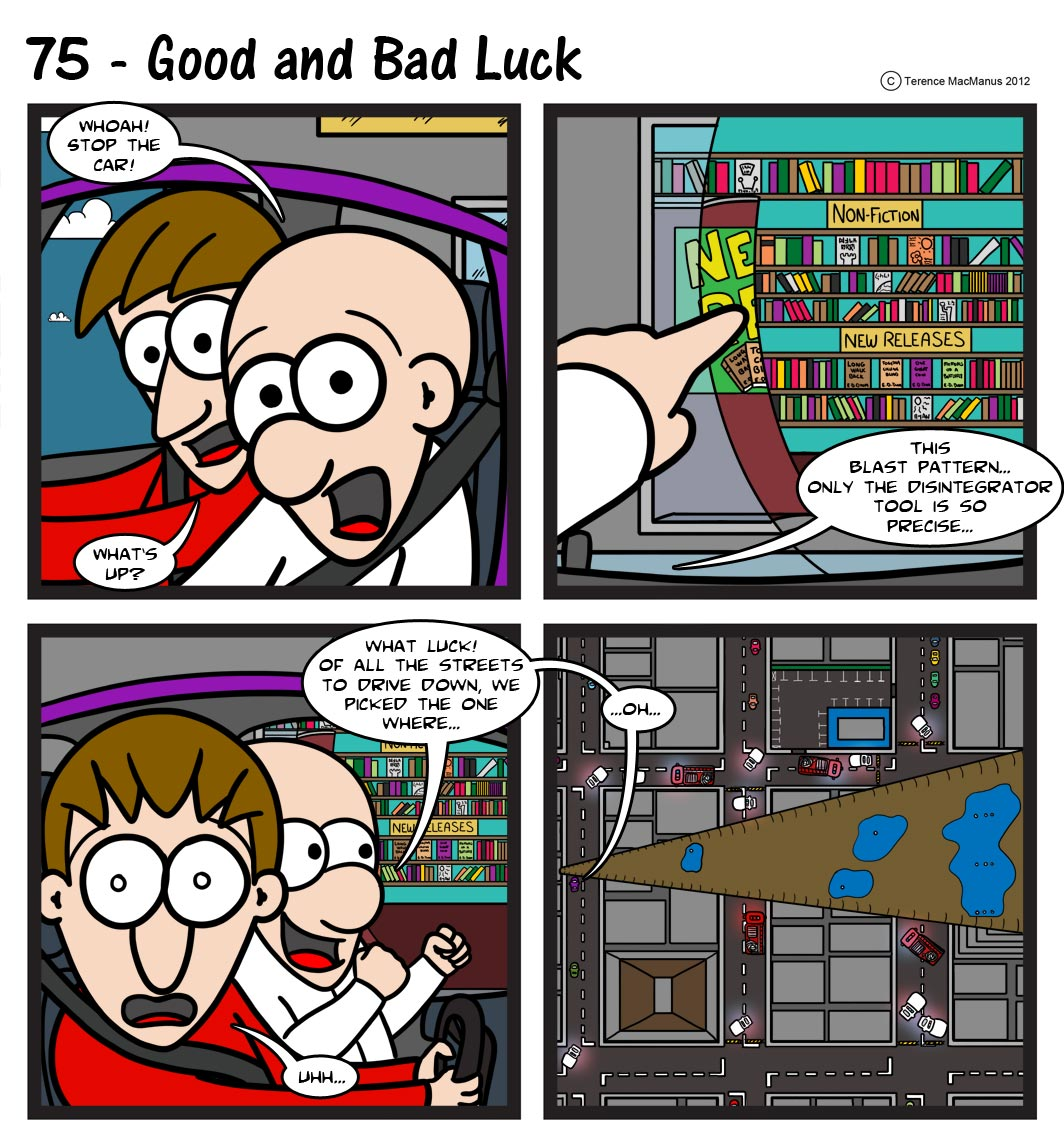 75 – Good and Bad Luck
