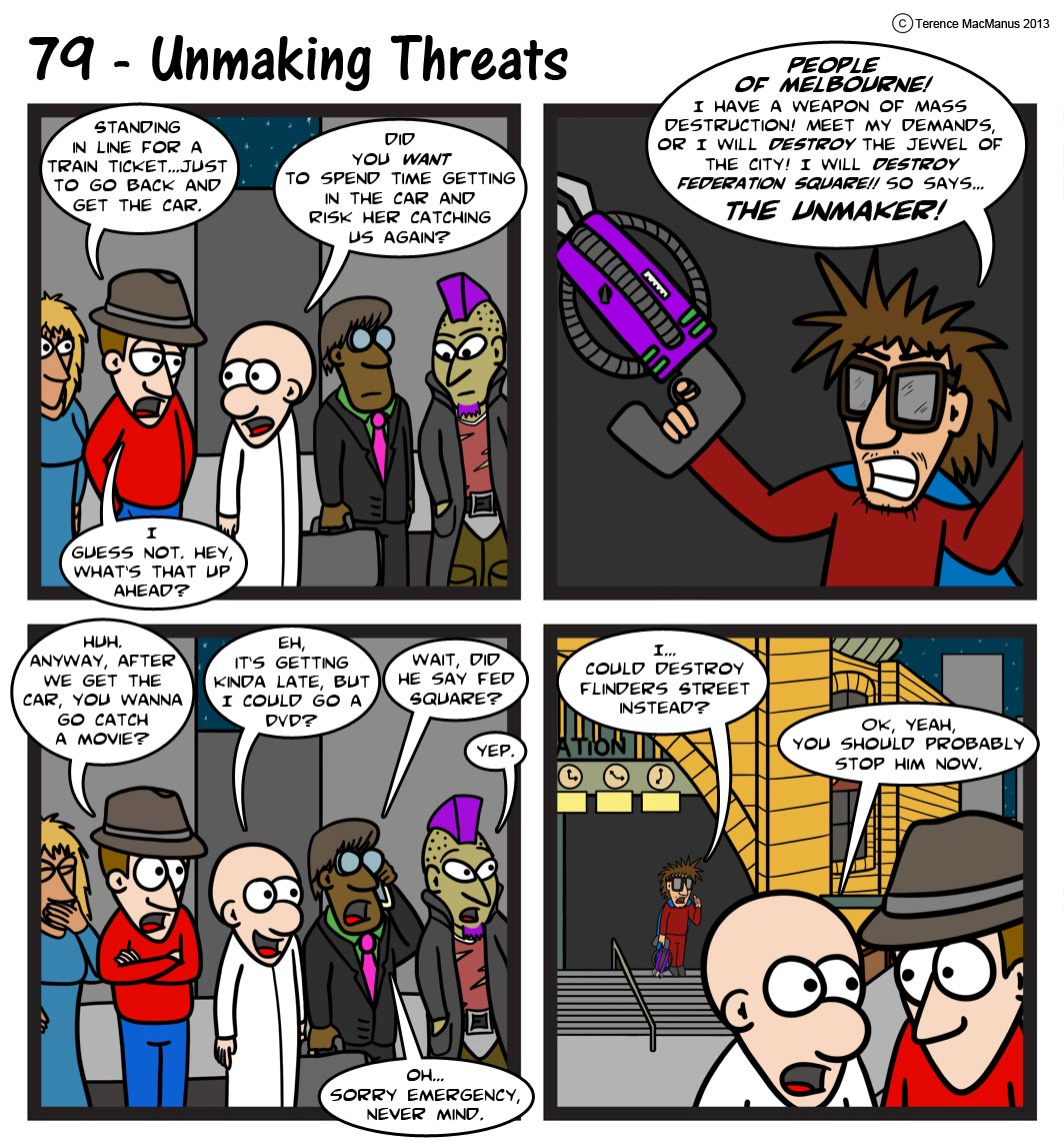 79 – Unmaking Threats