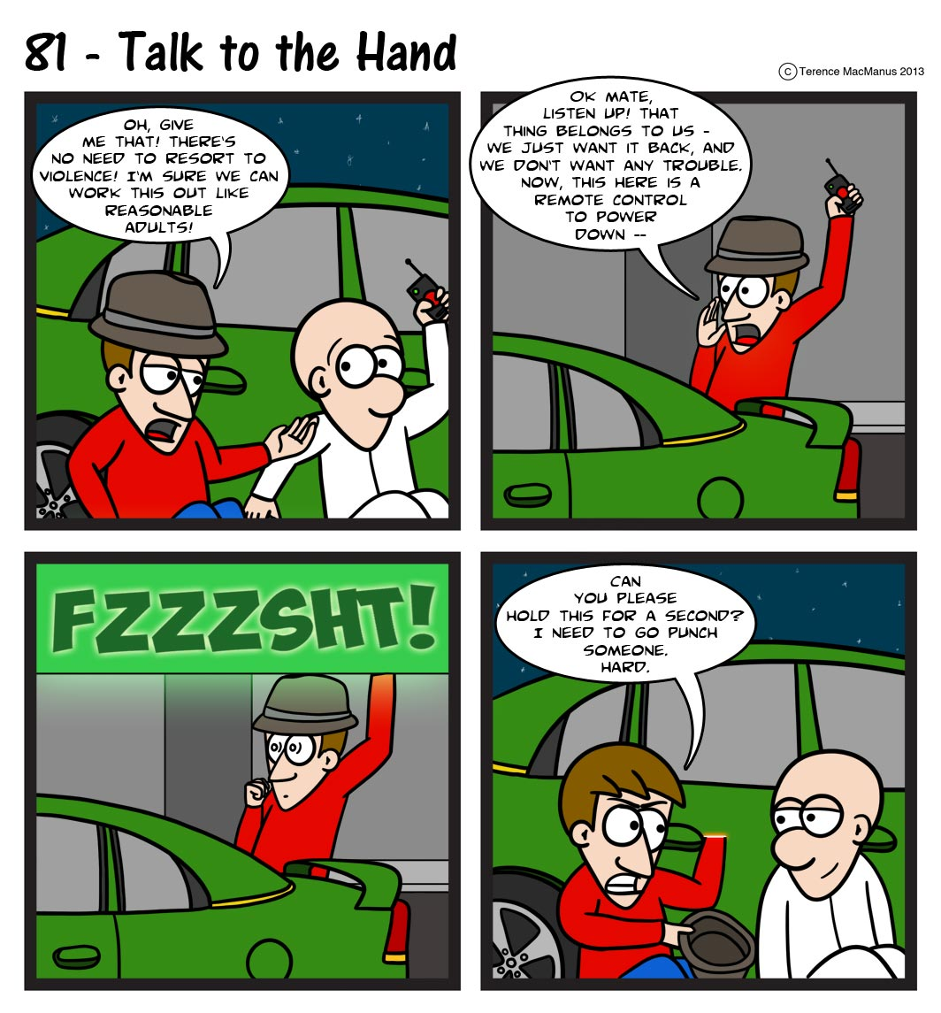 81 – Talk To The Hand