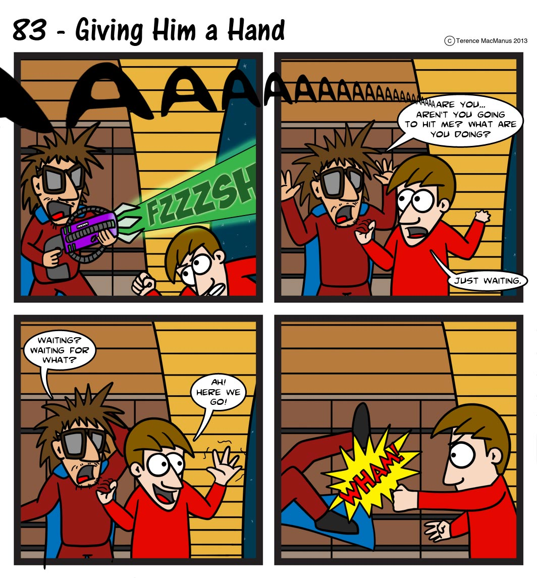 83 – Giving Him A Hand