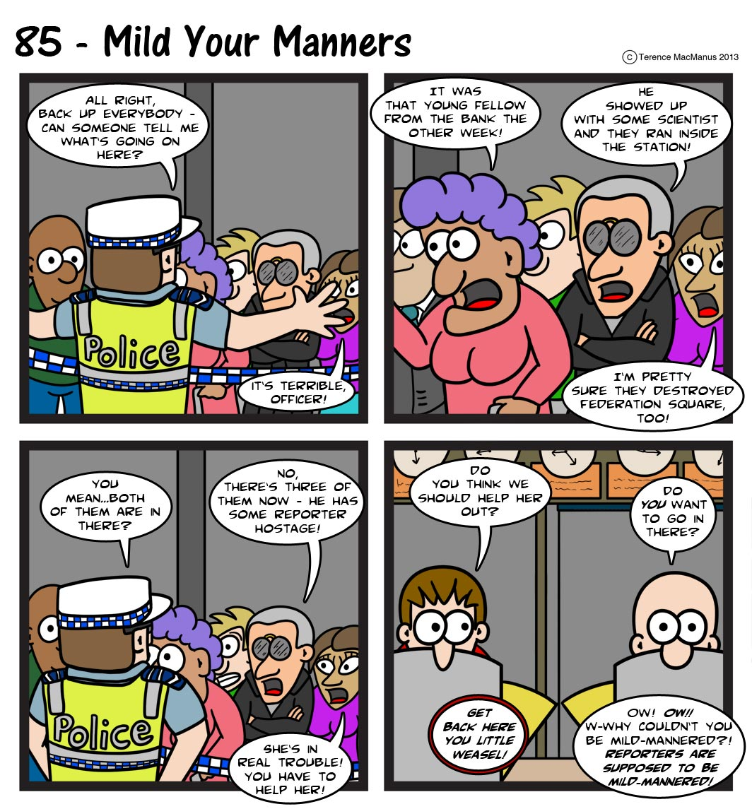 85 – Mild Your Manners