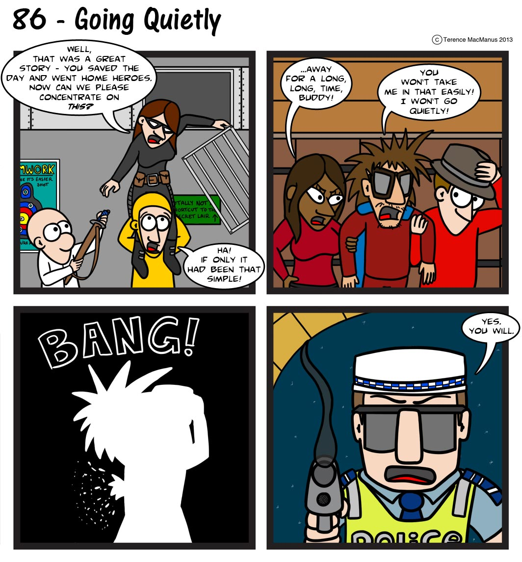 86 – Going Quietly