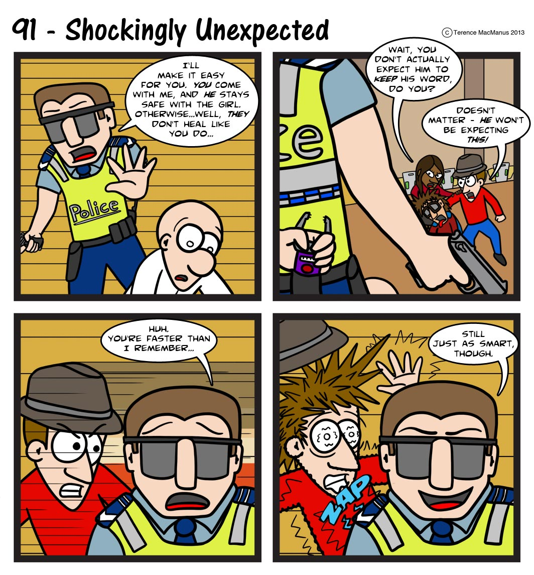 91 – Shockingly Unexpected