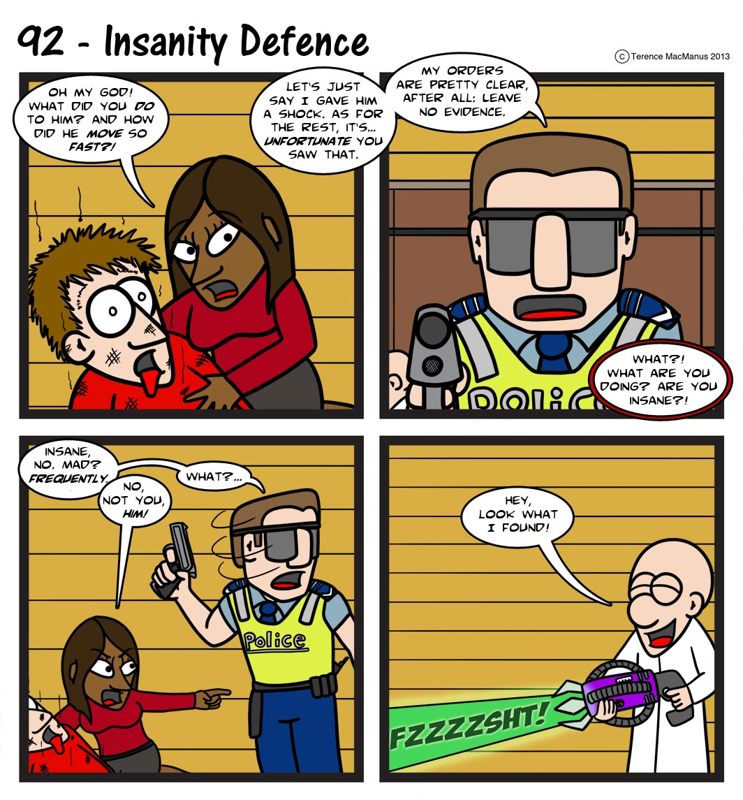 92 – Insanity Defence