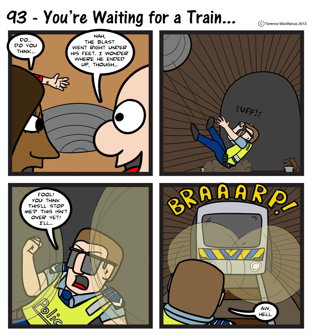 93 – You're Waiting for a Train…