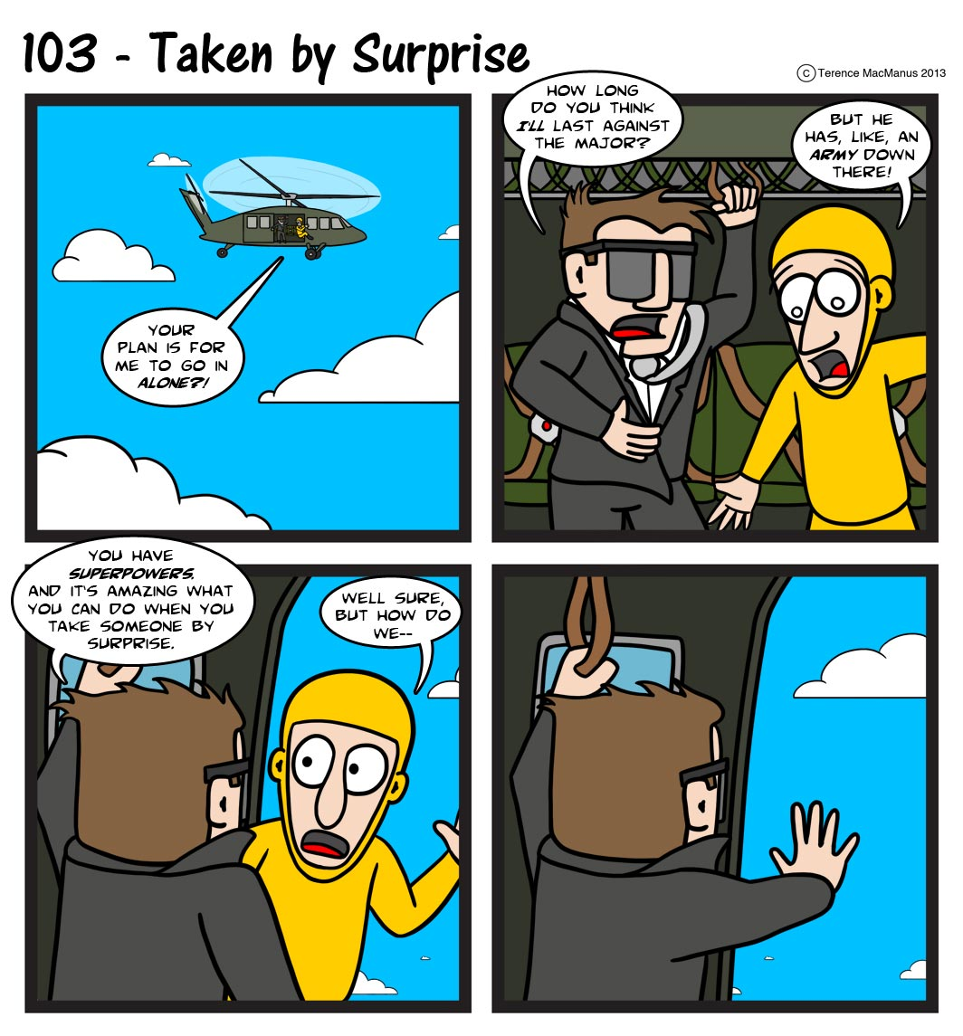 103 – Taken by Surprise