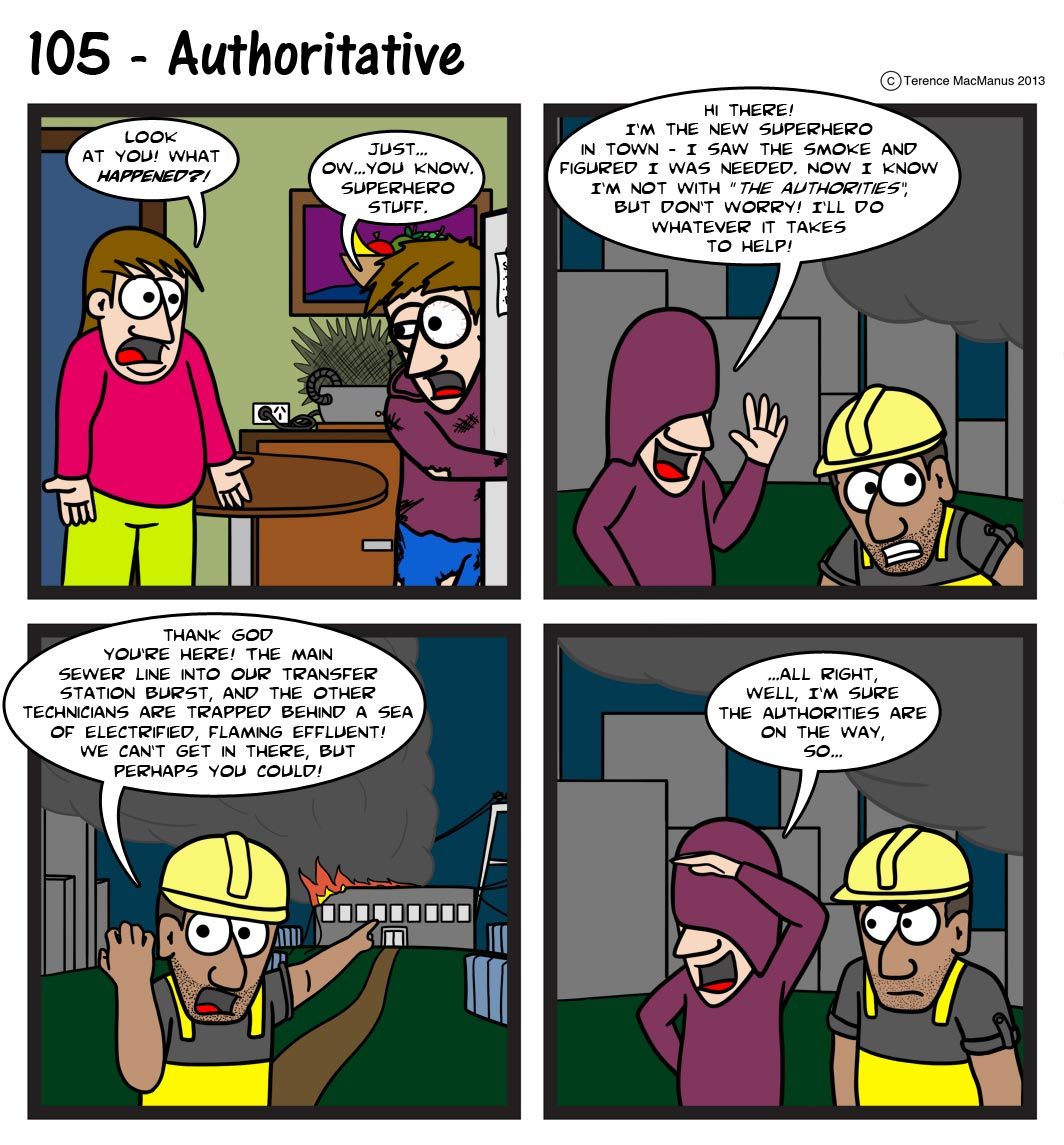 105 – Authoritative