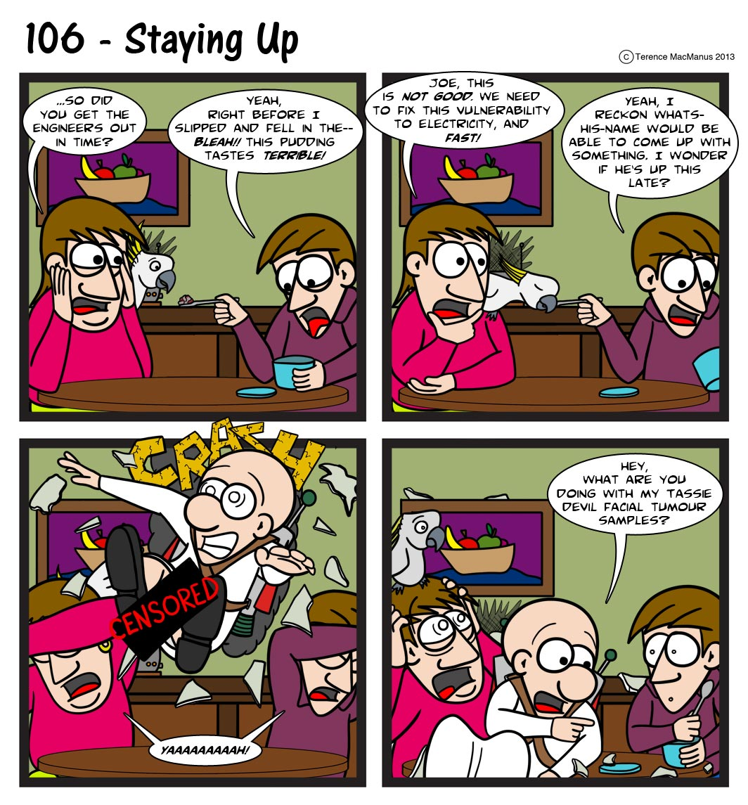 106 – Staying Up