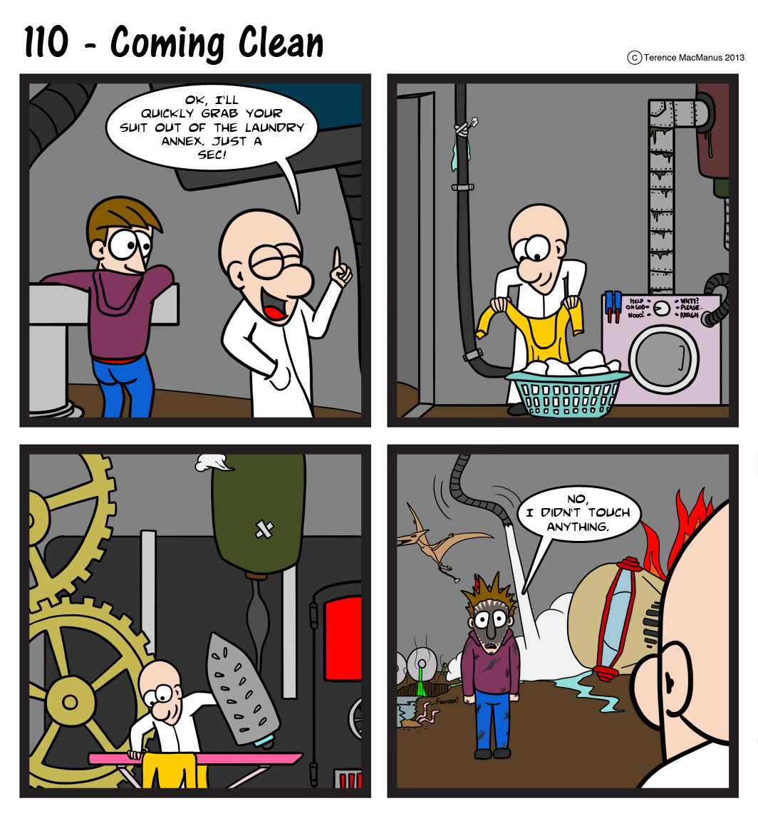 110 – Coming Clean