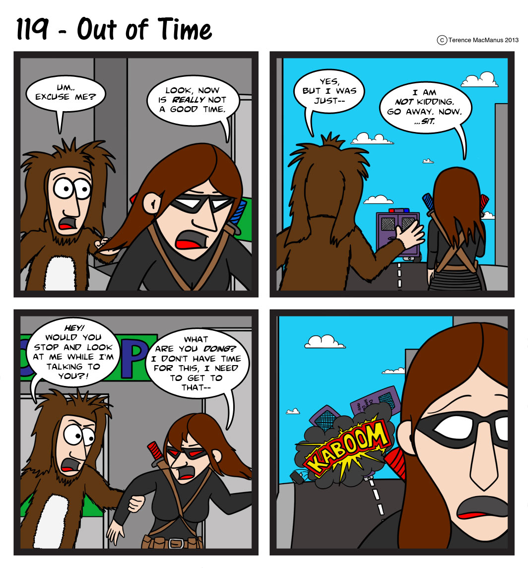 119 – Out of Time