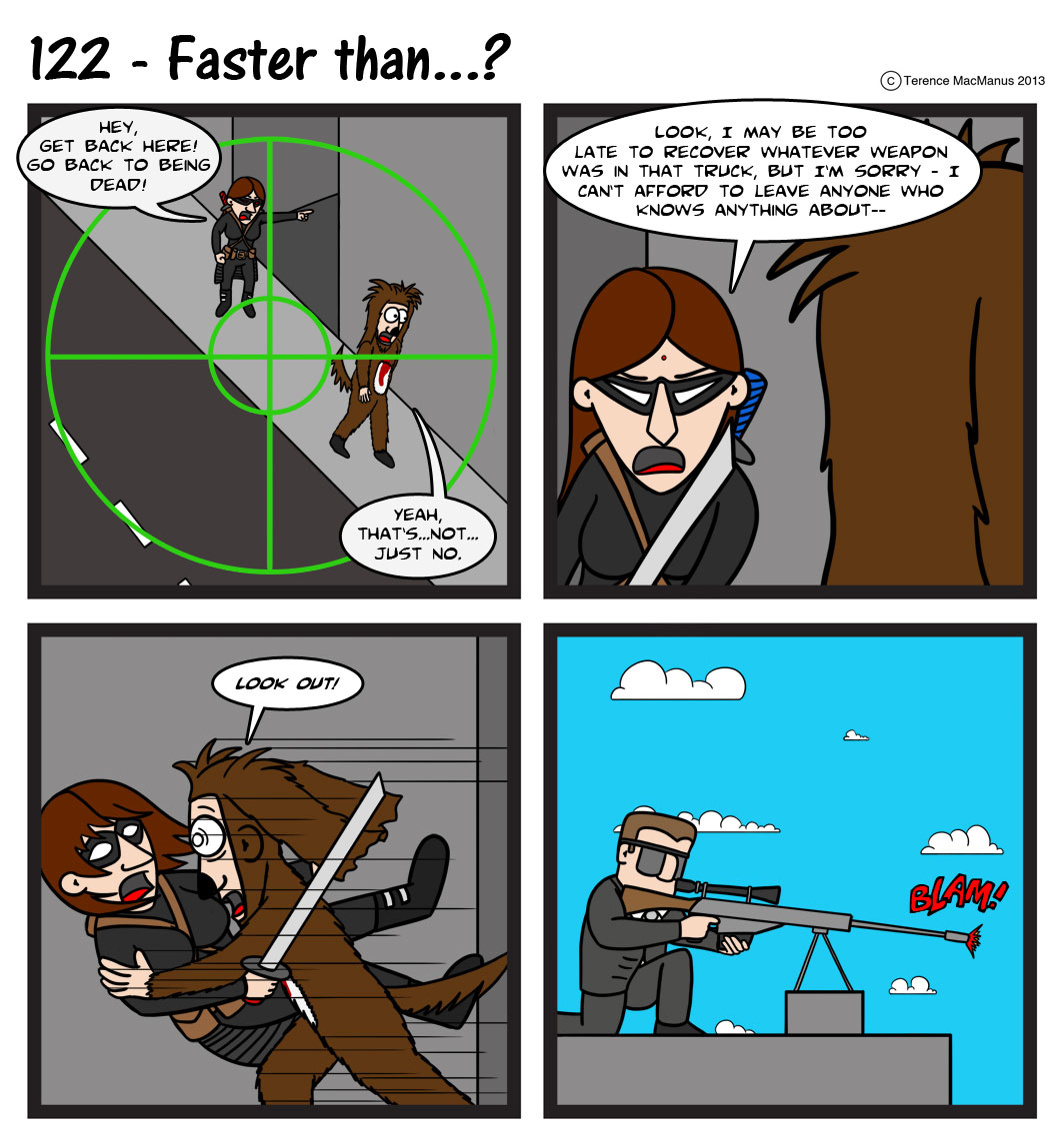 122 – Faster Than…?