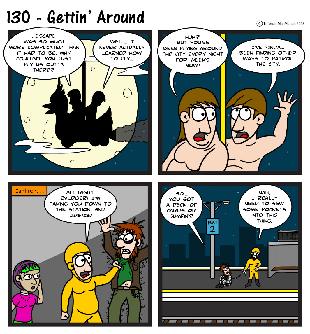 130 – Gettin' Around
