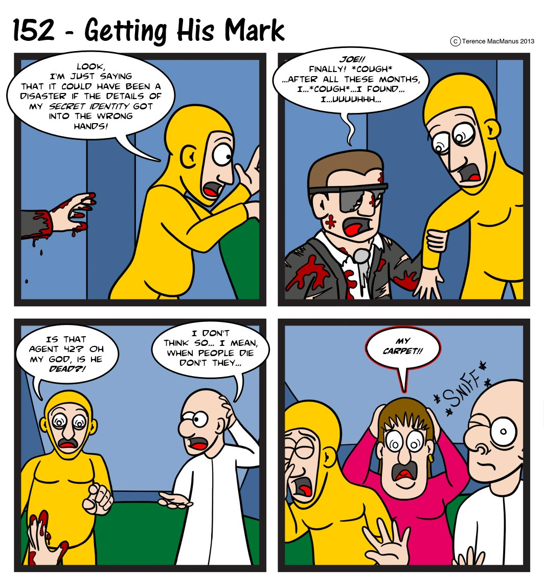 152 – Getting His Mark