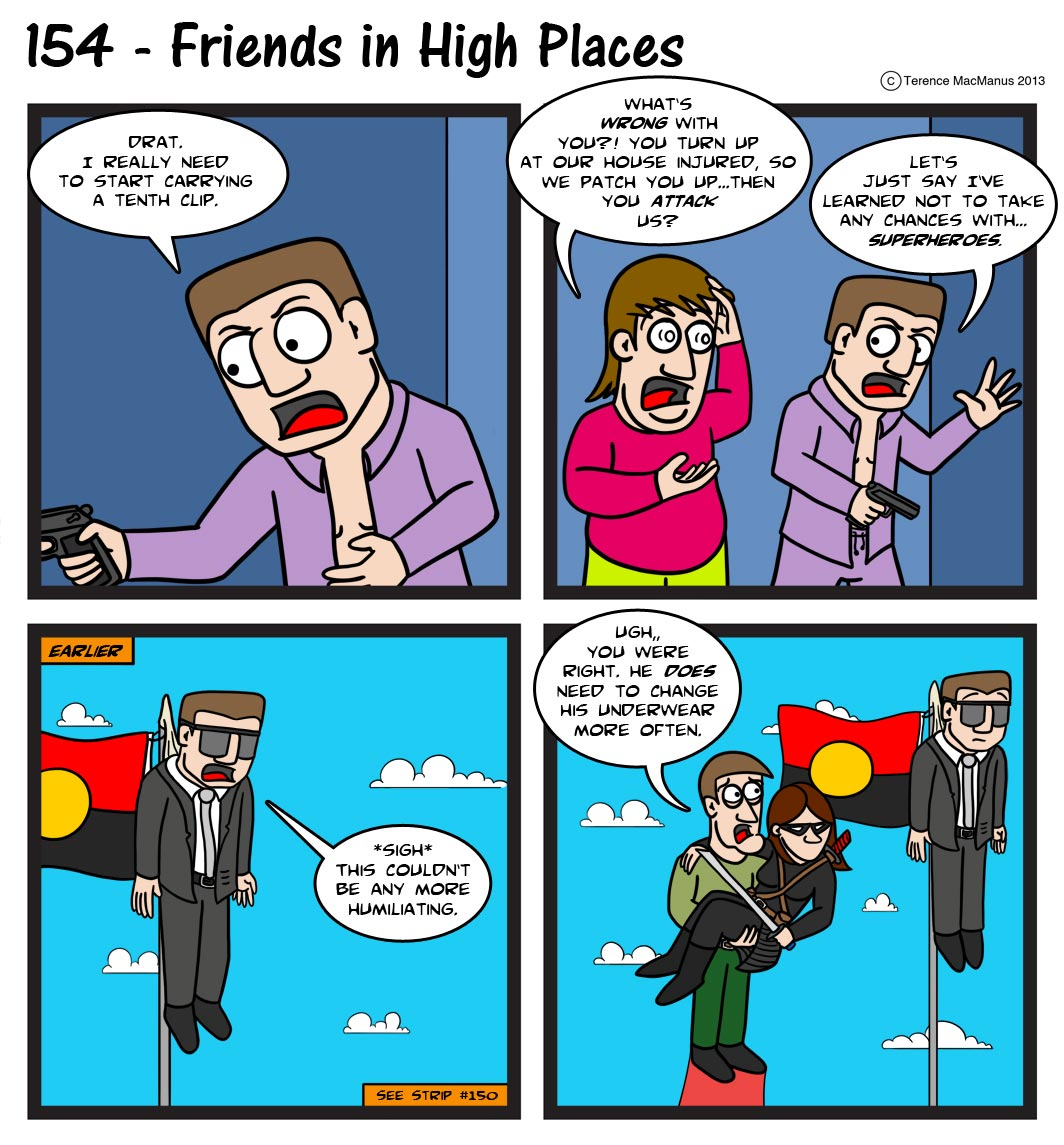 154 – Friends in High Places