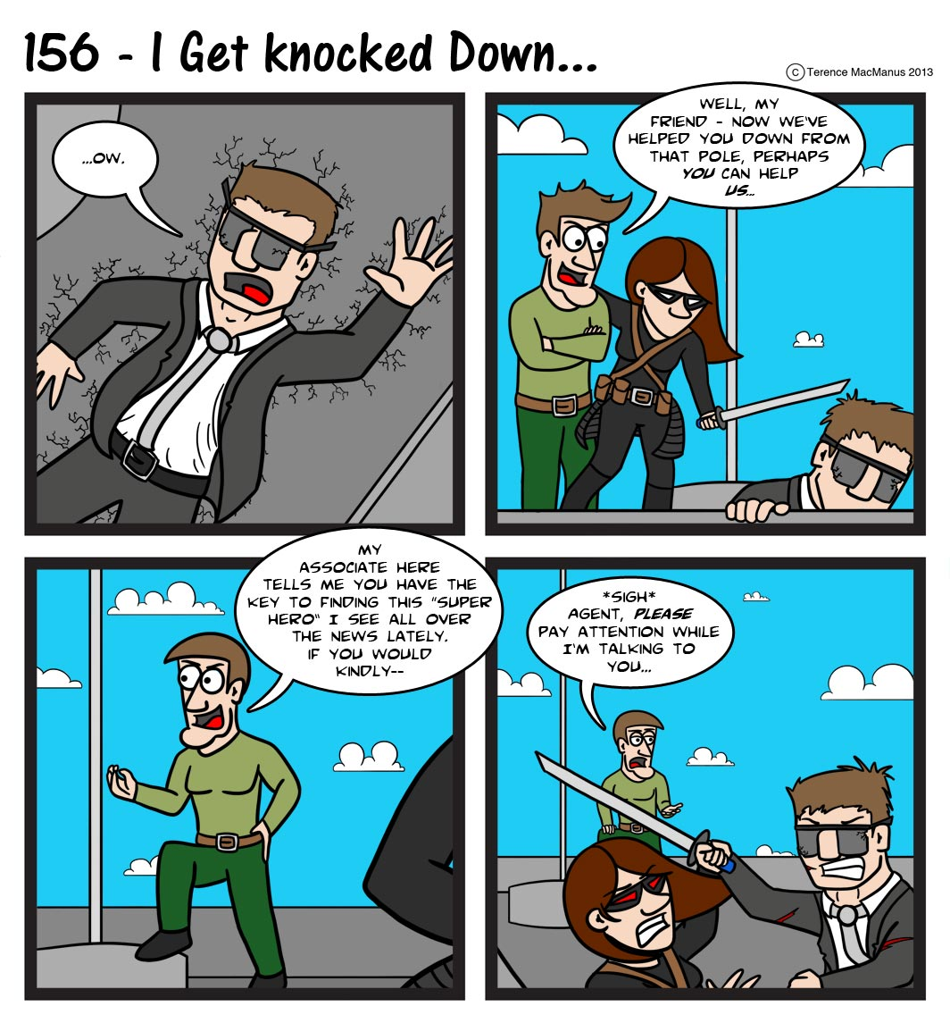 156 – I Get Knocked Down…