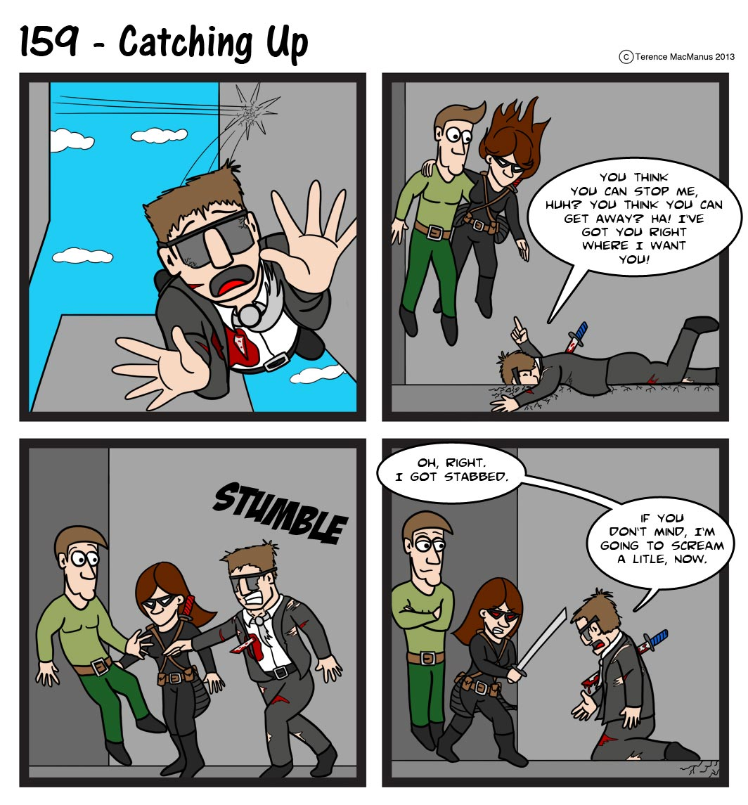 159 – Catching Up