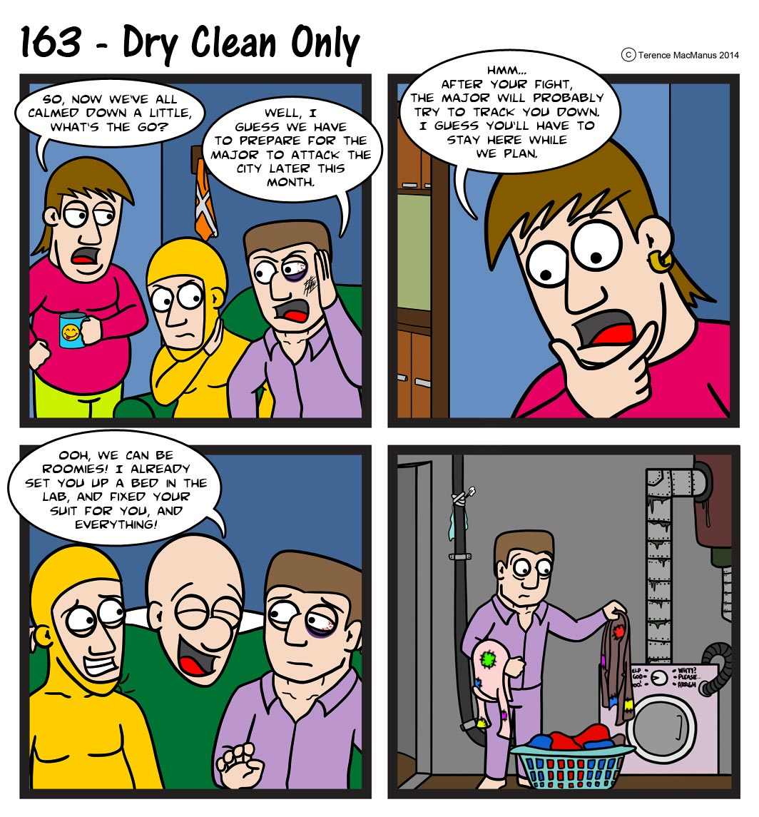 163 – Dry Clean Only