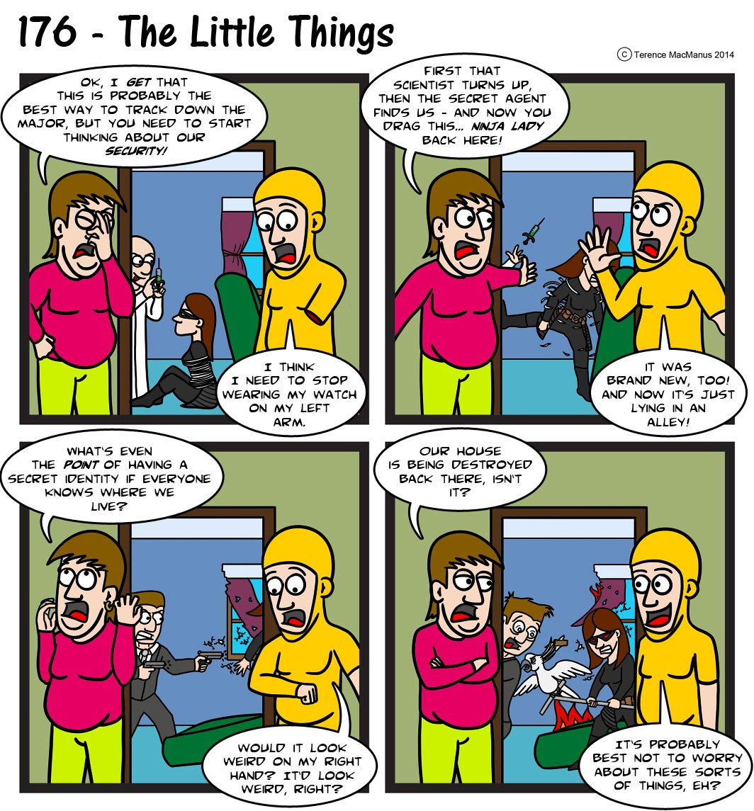176 – The Little Things
