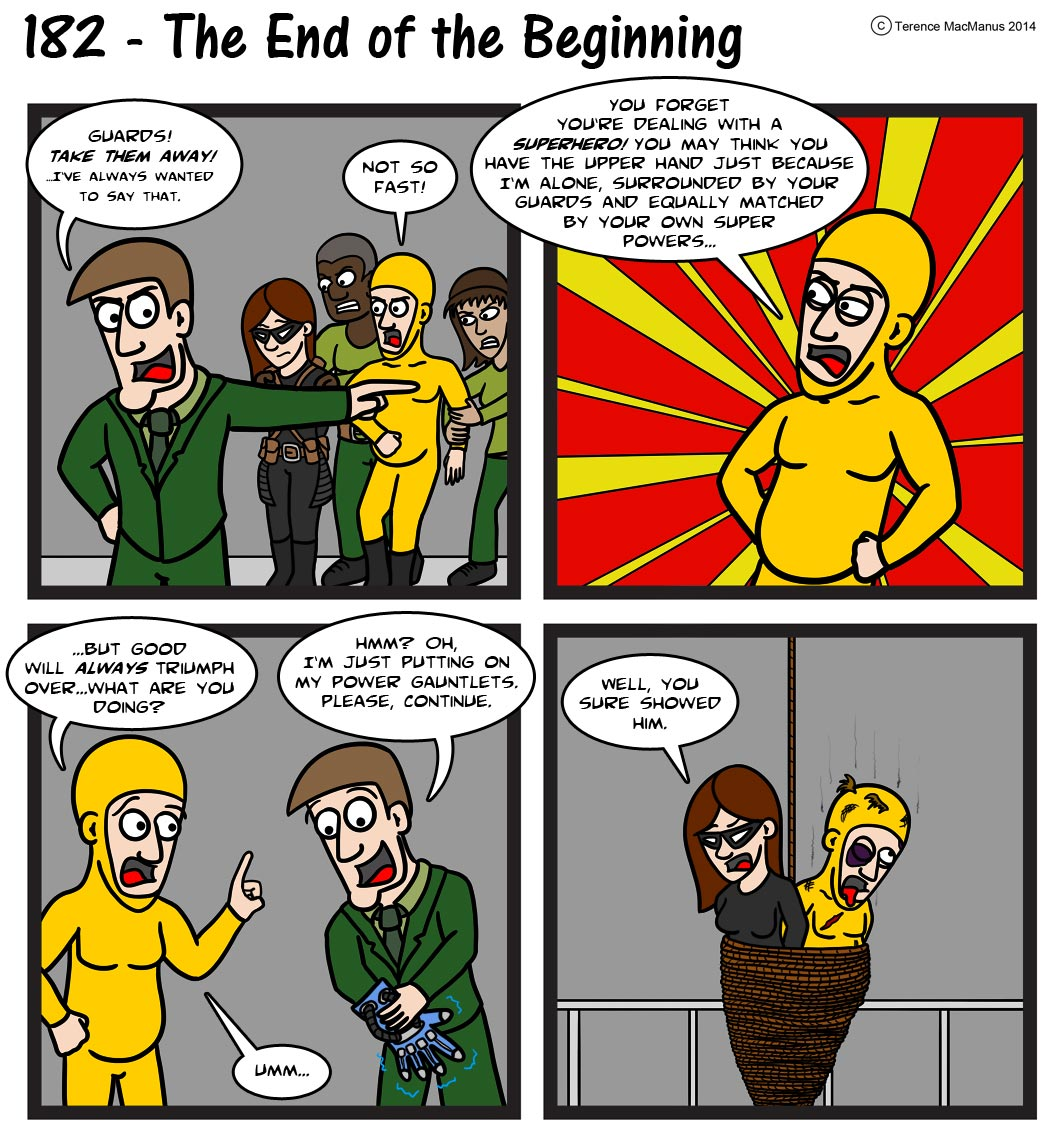 182 – The End of the Beginning