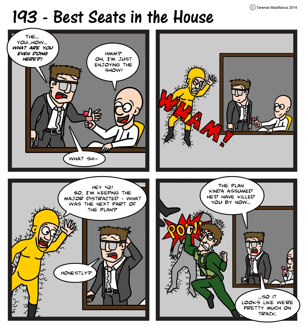193 – Best Seats in the House