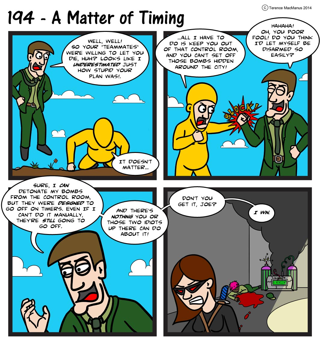 194 – A Matter of Timing